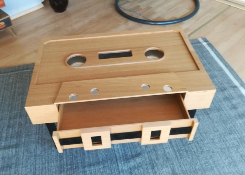 Tailor made coffee table